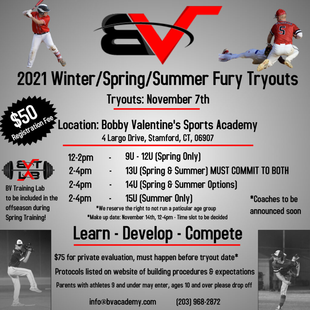 Fury Tryouts