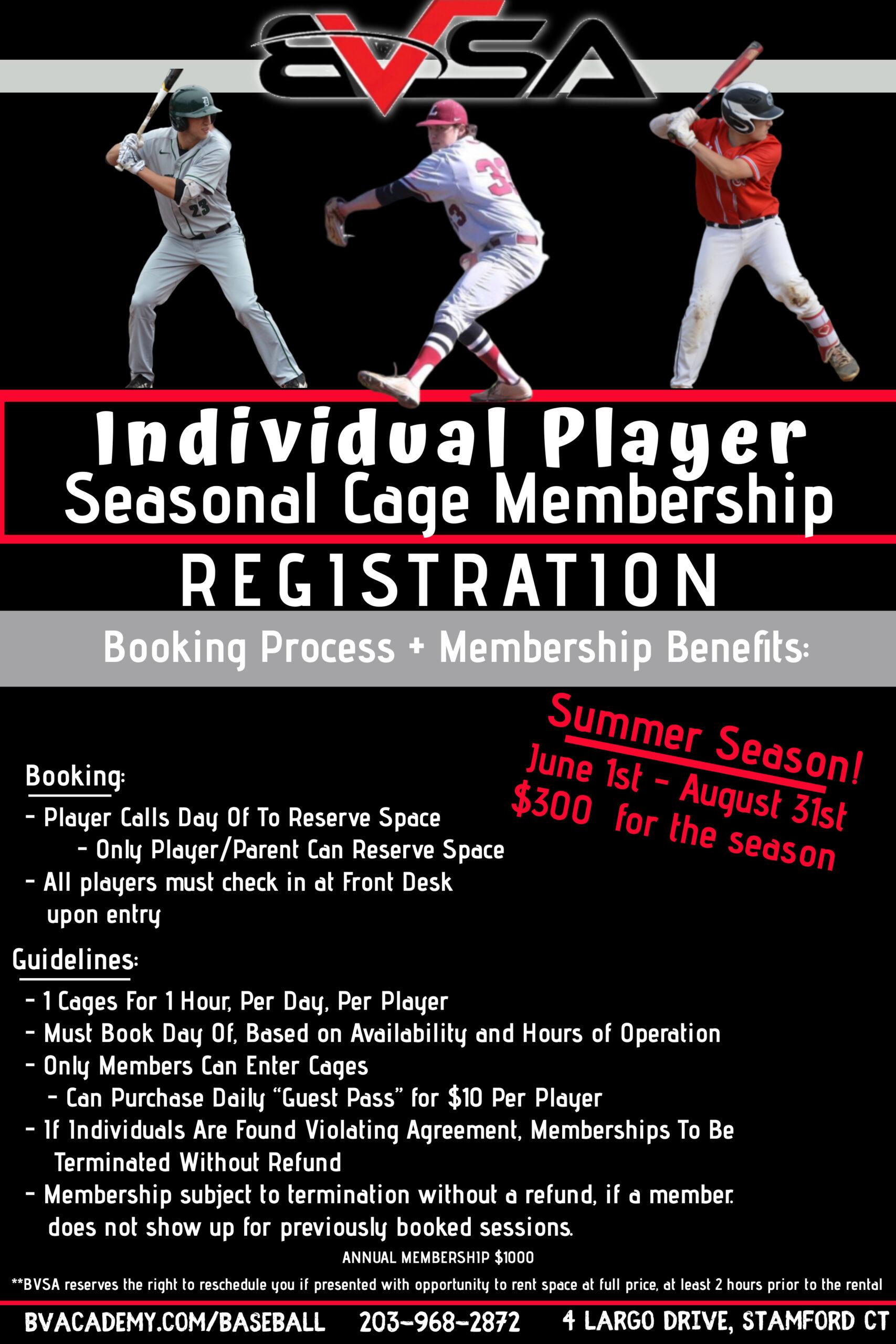 Summer Individual Membership