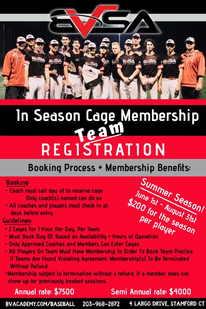 Summer Team Membership